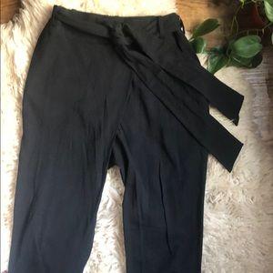 COS pants with sash